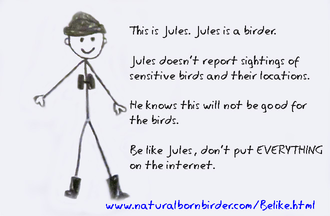 Be like a birder - supress